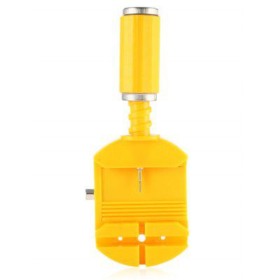 Watch Band Adjustment ToolWatch Accessories<br>Watch Band Adjustment Tool<br><br>Material: Plastic<br>Package Contents: 1 x Repair Tool<br>Package size (L x W x H): 15.10 x 10.00 x 4.00 cm / 5.94 x 3.94 x 1.57 inches<br>Package weight: 0.0520 kg<br>Product size (L x W x H): 11.40 x 4.80 x 3.00 cm / 4.49 x 1.89 x 1.18 inches<br>Product weight: 0.0320 kg