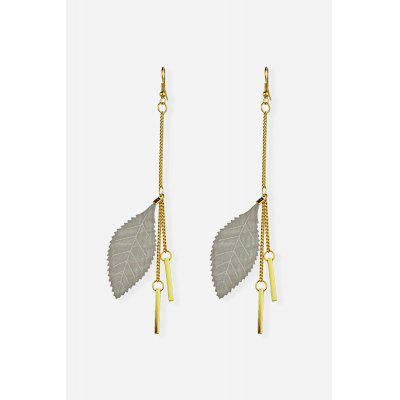 Long Leaf Pendant Ear Drops