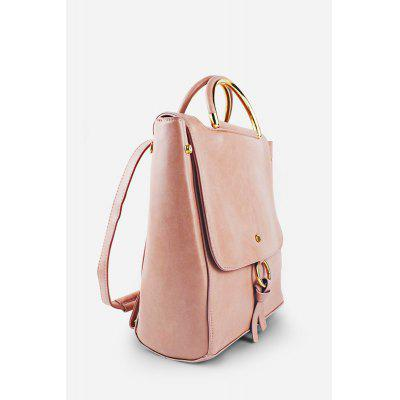 Mini PU Leather Backpack HandbagBackpacks<br>Mini PU Leather Backpack Handbag<br><br>Closure Type: Buckle<br>Material: PU<br>Package Size(L x W x H): 24.50 x 13.00 x 31.00 cm / 9.65 x 5.12 x 12.2 inches<br>Package weight: 0.6600 kg<br>Packing List: 1 x Backpack<br>Product Size(L x W x H): 23.50 x 12.00 x 30.00 cm / 9.25 x 4.72 x 11.81 inches<br>Product weight: 0.6300 kg<br>Style: Fashion, Casual<br>Type: Backpacks