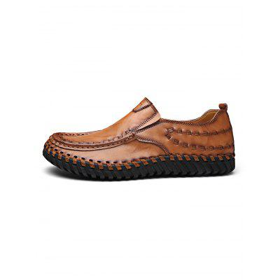 Fashion Hand Sew-up Leather Men Casual ShoesMen's Oxford<br>Fashion Hand Sew-up Leather Men Casual Shoes<br><br>Contents: 1 x Pair of Shoes<br>Materials: Leather, Rubber<br>Occasion: Casual<br>Package Size ( L x W x H ): 33.00 x 22.00 x 11.00 cm / 12.99 x 8.66 x 4.33 inches<br>Package Weights: 0.970kg<br>Seasons: Autumn,Spring,Summer<br>Style: Leisure, Fashion, Comfortable<br>Type: Casual Shoes
