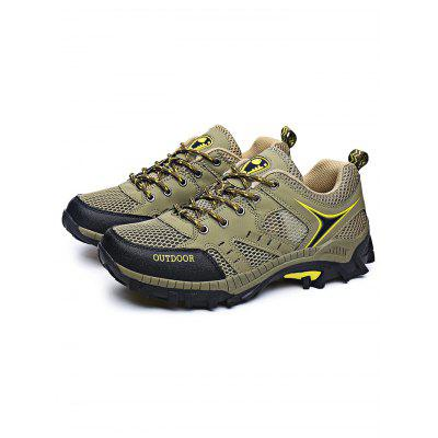 Outdoor Fashion Mesh Lace-up Men Hiking ShoesAthletic Shoes<br>Outdoor Fashion Mesh Lace-up Men Hiking Shoes<br><br>Contents: 1 x Pair of Shoes<br>Materials: EVA, Mesh<br>Occasion: Casual<br>Package Size ( L x W x H ): 33.00 x 22.00 x 11.00 cm / 12.99 x 8.66 x 4.33 inches<br>Package Weights: 1.020kg<br>Seasons: Autumn,Spring,Summer<br>Style: Comfortable<br>Type: Hiking Shoes