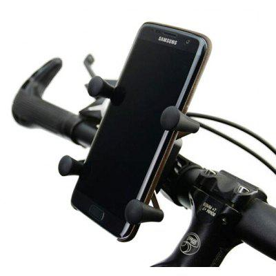 Mountain Bicycle Handlebar Fixation Phone Bracket Stand