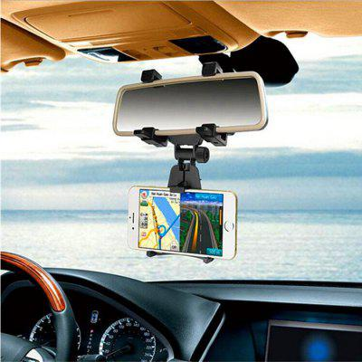 Car Phone Holder StandStands &amp; Holders<br>Car Phone Holder Stand<br><br>Features: Adjustable Stand<br>Material: PC<br>Package Contents: 1 x Rearview Hook Phone Holder<br>Package size (L x W x H): 25.00 x 10.00 x 10.00 cm / 9.84 x 3.94 x 3.94 inches<br>Package weight: 0.1800 kg<br>Product size (L x W x H): 23.00 x 9.00 x 7.50 cm / 9.06 x 3.54 x 2.95 inches<br>Product weight: 0.1400 kg<br>Type: Car Stand, Clip Stand