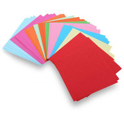 Deli 6406 100PCS Papel Plegable de Origami de Siete Colores