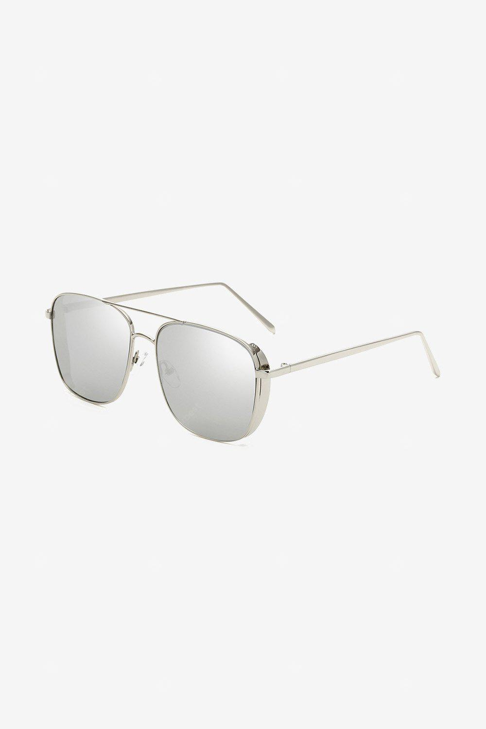 Anti-UV Colored PC Lens Square Sunglasses