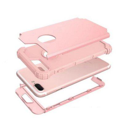 Anti-drop Case for iPhone 7 PlusiPhone Cases/Covers<br>Anti-drop Case for iPhone 7 Plus<br><br>Compatible for Apple: iPhone 7 Plus<br>Features: Anti-knock, Back Cover, Bumper Frame<br>Material: PC, Silicone<br>Package Contents: 1 x Phone Case<br>Package size (L x W x H): 18.00 x 9.00 x 2.40 cm / 7.09 x 3.54 x 0.94 inches<br>Package weight: 0.0700 kg<br>Product size (L x W x H): 16.70 x 8.70 x 1.40 cm / 6.57 x 3.43 x 0.55 inches<br>Product weight: 0.0500 kg<br>Style: Solid Color, Modern