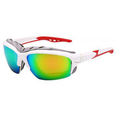 Buy COLORMIX UV400 Skiing Cycling Sunglasses with Anti-explosion PC Lens for $3.32 in GearBest store