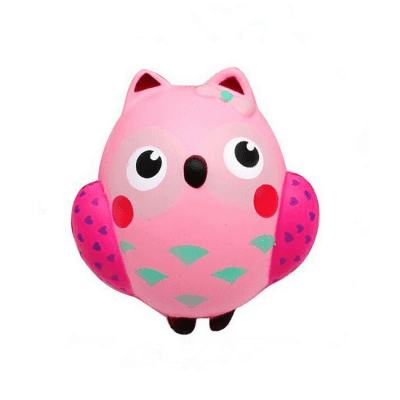 Cute Owl Ultra Soft PU Foam EDC Squishy Toy