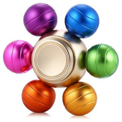 Six-ball Aluminum Alloy ADHD Fidget Spinner