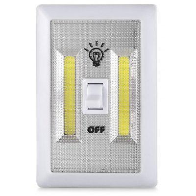 300LM Magnetic COB Cordless Switch Wall LED Night Light