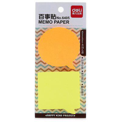 Deli 6405 Post-it Sticker Marcador de Libros Notas
