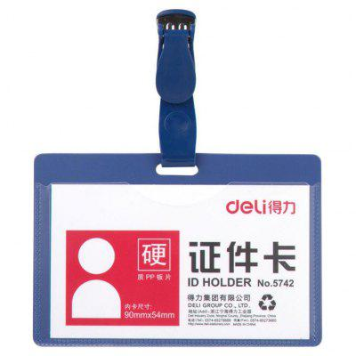 Deli 5742 ID Card Holder for School