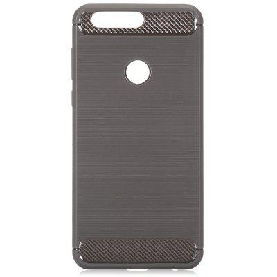 Luanke Brushed Finish Soft Phone Case para HUAWEI Honra 8