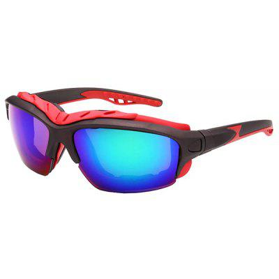 Buy COLORMIX UV400 Skiing Cycling Sunglasses with Anti-explosion PC Lens for $6.43 in GearBest store