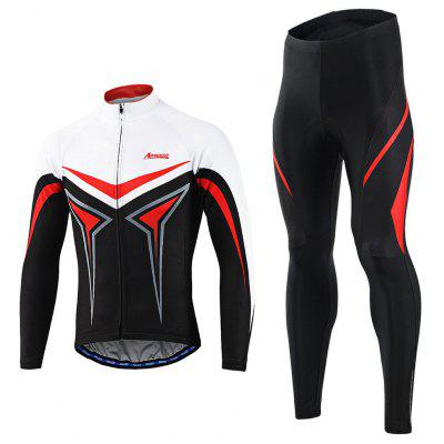 Arsuxeo Maschile Ciclismo Suit