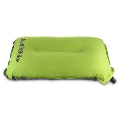 NatureHike Portable Self-inflatable Pillow with Storage BagOther Camping Gadgets<br>NatureHike Portable Self-inflatable Pillow with Storage Bag<br><br>Brand: NatureHike<br>Package Contents: 1 x NatureHike Self-inflating Pillow, 1 x Storage Bag<br>Package Size(L x W x H): 26.50 x 11.50 x 11.50 cm / 10.43 x 4.53 x 4.53 inches<br>Package weight: 0.3300 kg<br>Product Size  ( L x W x H ): 46.00 x 27.00 x 9.50 cm / 18.11 x 10.63 x 3.74 inches<br>Product weight: 0.2700 kg