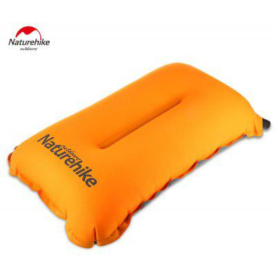 NatureHike Portable Self-inflatable Pillow with Storage Bag