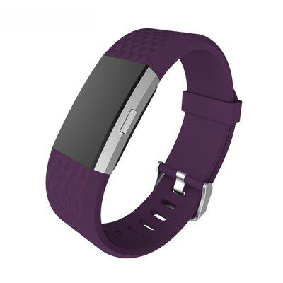 Silicon Wristband Replacement Strap for Fitbit Charge 2Smart Watch Accessories<br>Silicon Wristband Replacement Strap for Fitbit Charge 2<br><br>Function: Replacement Strap<br>Material: Silicon<br>Package Contents: 1 x Wristband<br>Package size: 17.00 x 9.50 x 1.30 cm / 6.69 x 3.74 x 0.51 inches<br>Package weight: 0.0200 kg<br>Product size: 21.70 x 2.00 x 0.20 cm / 8.54 x 0.79 x 0.08 inches<br>Product weight: 0.0170 kg