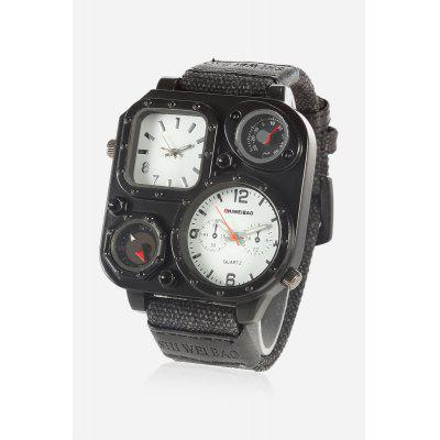 SHI WEI BAO J1169 Outdoor Double Movt Men Watch