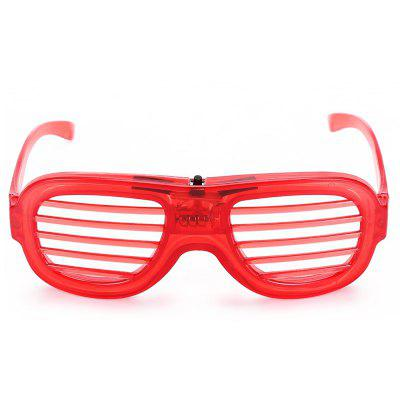 Built-in LED Neon Strip Light Plastic Blind Glasses