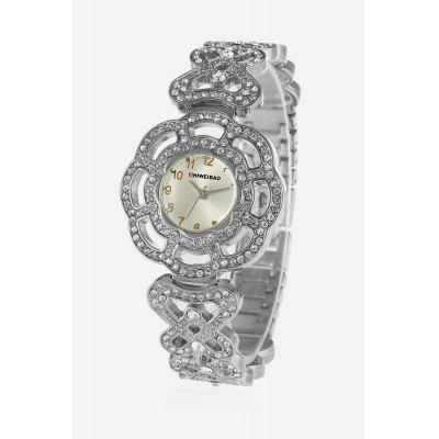 SHI WEI BAO A3222 Crystal Luxury Quartz Watch