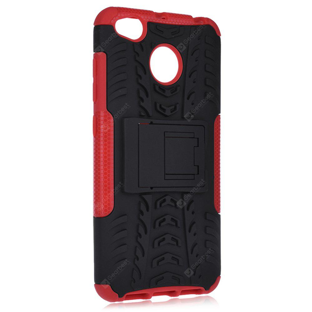 3D Relief Back Phone Case RED