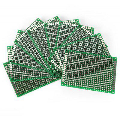 10PCS 5 x 7cm Double Side PCB Printed Circuit Board
