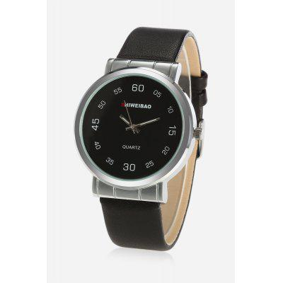 SHI WEI BAO A67 Men Quartz Leather Watch