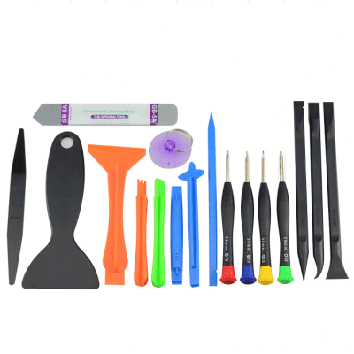 17PCS Cellphone / Tablet Disassemble Tools
