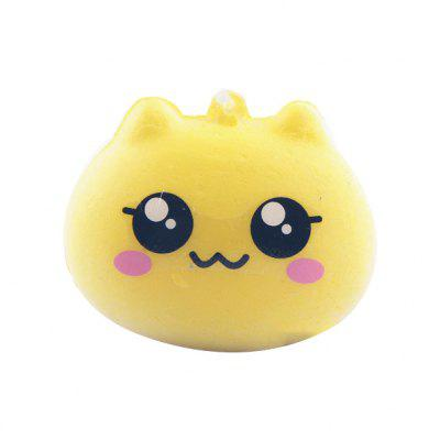 Cute Cat Macaron Soft PU Foam Squishy Toy