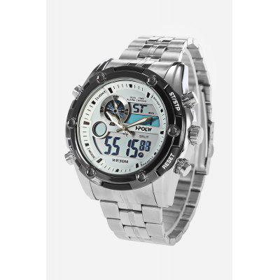 Buy WHITE HPOLW 618 Analog-digital Watch for $25.31 in GearBest store