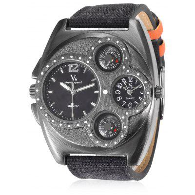 V6 Men Quartz Watch