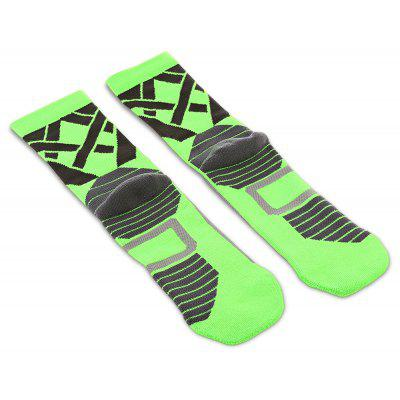 Pair of STAR FROM AD49 Compression Leisure Sports Socks