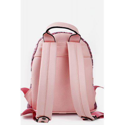Spike Glossy PU Leather Backpack от GearBest.com INT