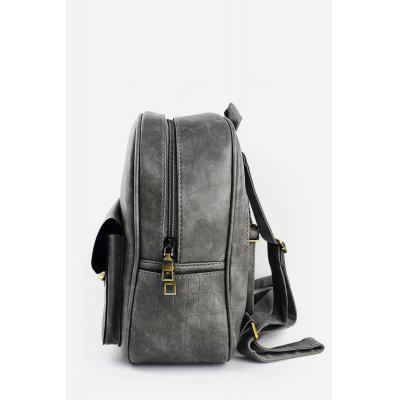 Fashion Women PU Leather Motorcycle Bag BackpackBackpacks<br>Fashion Women PU Leather Motorcycle Bag Backpack<br><br>Closure Type: Twist Lock<br>Material: PU<br>Package Size(L x W x H): 26.00 x 13.00 x 31.00 cm / 10.24 x 5.12 x 12.2 inches<br>Package weight: 0.6800 kg<br>Packing List: 1 x Bag<br>Product Size(L x W x H): 25.00 x 12.00 x 30.00 cm / 9.84 x 4.72 x 11.81 inches<br>Product weight: 0.6500 kg<br>Style: Fashion, Classics, Casual<br>Type: Backpacks