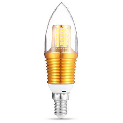 Buy WARM WHITE LIGHT 9W E14 45 LEDs Candle Bulb 160 220V for $3.37 in GearBest store