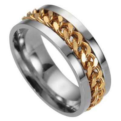 Stylish Titanium Steel Chain Finger Ring