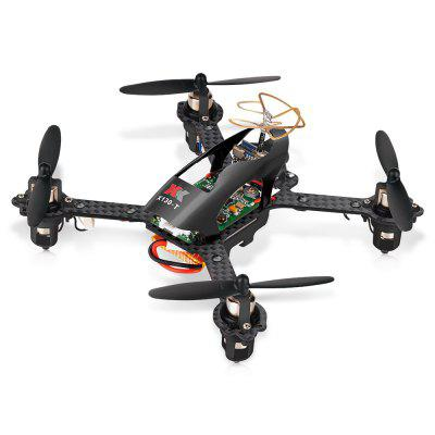 XK X130 - T 130mm 2.4GHz 4CH RC Racing Drone - RTFMicro Brushed Racer<br>XK X130 - T 130mm 2.4GHz 4CH RC Racing Drone - RTF<br><br>Battery (mAh): 3.7V 700mAh 25C<br>Battery Coulomb: 25C<br>Brand: XK<br>Channel: 4-Channels<br>Charging Time.: About 90mins<br>Control Distance: 100-300m<br>Detailed Control Distance: About 200m<br>Flying Time: About 8mins<br>FPV Distance: 250m<br>Mode: Mode 2 (Left Hand Throttle)<br>Model: 1020<br>Motor Type: Brushed Motor<br>Package Contents: 1 x Drone ( Battery Included ), 1 x Transmitter, 1 x USB Cable, 4 x Spare Propeller, 4 x Propeller Guard, 1 x Screwdriver, 1 x English Manual<br>Package size (L x W x H): 24.40 x 20.50 x 12.80 cm / 9.61 x 8.07 x 5.04 inches<br>Package weight: 0.2100 kg<br>Product size (L x W x H): 14.40 x 13.70 x 6.00 cm / 5.67 x 5.39 x 2.36 inches<br>Product weight: 0.0800 kg<br>Remote Control: 2.4GHz Wireless Radio Control<br>Sensor: CMOS<br>Transmitter Power: 4 x 1.5V AA (not included)<br>Type: Frame Kit<br>Version: RTF<br>Video Resolution: 600TVL ( horizontal )<br>Video Standards: NTSC,PAL
