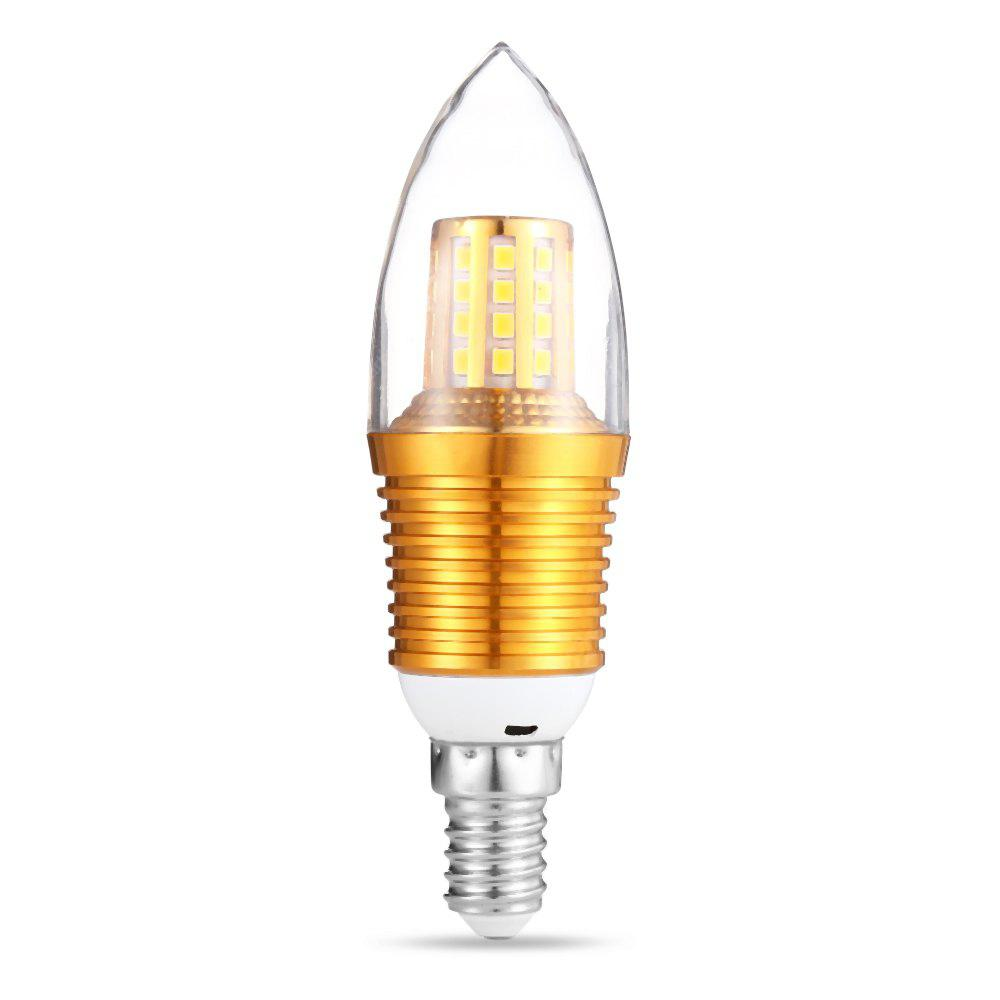 WARM WHITE LIGHT 9W E14 45 LEDs Candle Bulb 160 220V