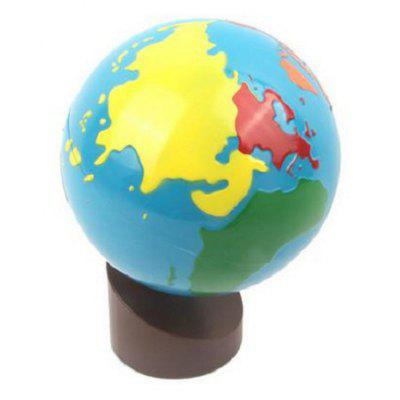Baby Learning World Globe Eco-friendly Painting with Wood Base
