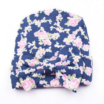 Bow Cotton Infant Baby Soft Cute Kid Hat Cap for Newborn
