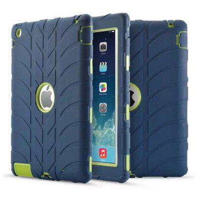Drop Resistance Rubber Back Case for iPad 2 / 3 / 4