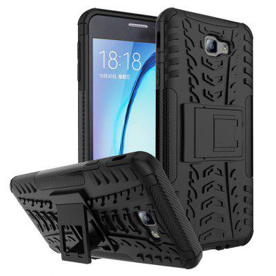 Anti-drop 3D Relief Back Case Protector Phone Bracket for Samsung Galaxy J7 Prime