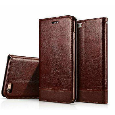 PU Leather Flip Cover Magnetic Case Protector for iPhone 7