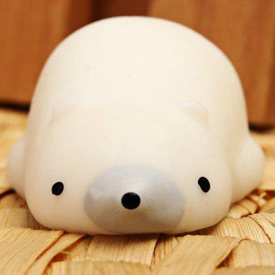 Cute Polar Bear TPR Squishy Toy
