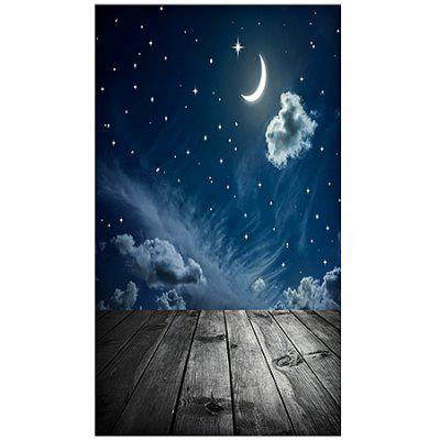 Night Moon Indoor Photography Backdrop Cloth