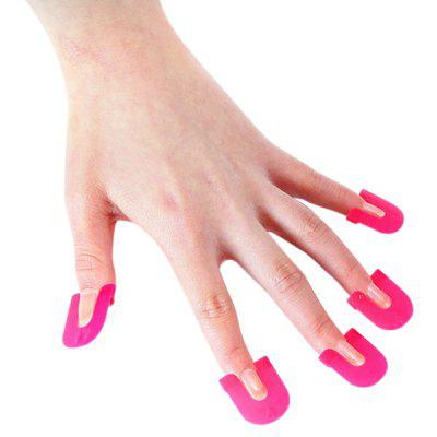 26PCS Nail Art Soak Off Cap Clip Gel Polish Wrap
