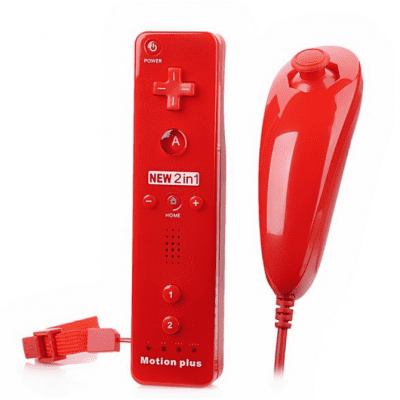Controller Set for Wii Nunchuck Motion Plus Remote
