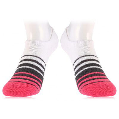 Pair of STAR FROM AD41 Leisure Sports Low-cut Liner Socks