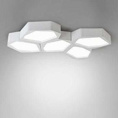BRELONG LED Stepless Dimming Ceiling Light Stone Shape
